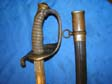 US Civil War Non-Reg Staff & Field Sword W/S