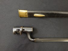 English P-1853/76 Martini Henry Socket Bayonet W/S