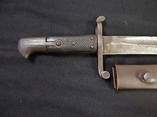 Japanese Marked Enfield or Snyder Sword Bayonet W/S