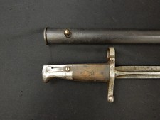 French M-1859 Manceaux Rifle Bayonet W/S