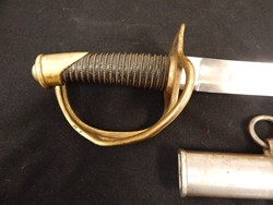 Ames 1845 Dated Heavy Cavalry Saber W/S