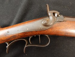 Ohio Half Stock Rifle by W.L.HUDSON Cincinnatti