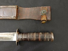 US Marine Corps WWII Era Fighting Knife W/S