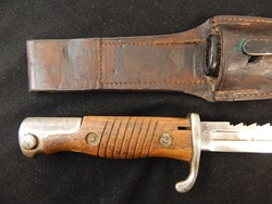 Yugoslavian Altered German M-1898 Sawback Bayonet W/S