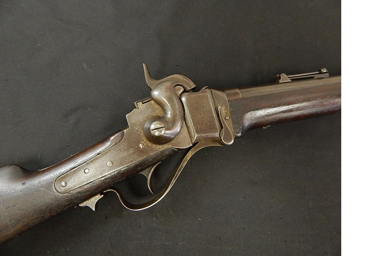 Sharps Model 1863 Rifle with Corp Inlays