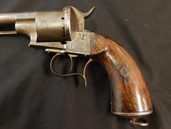 Lefaucheux Civil War Era Pin Fire Revolver