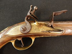 German High Grade Flintlock Officers Pistol