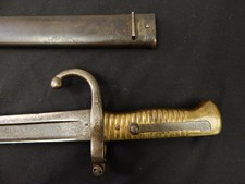 Dutch M-1873 Beaumont Navy Saber Bayonet W/S
