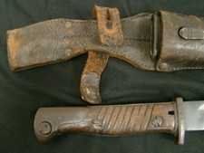 German 98/05 Butcher Bayonet Altered to K-98