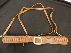 Western 44 Caliber Belt rig with Suspenders