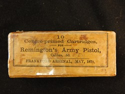 Remington Rolling Block Army Pistol 50 Caliber Ctg Pack