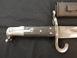 German Altered Austrian M-1867 Werndl NCO Bayonet W/S