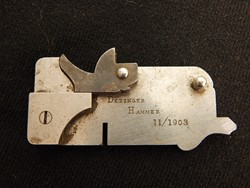 Colt No 3 Deringer Hammer Tool Room Model