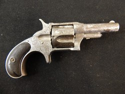 Remington Factory Engraved New Model No 4 Revolver