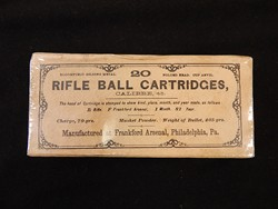 Frankford Arsenal 45/70 Rifle Cartridge Pack Dated 1882