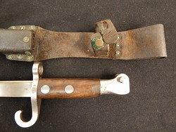 Dutch M-1895 Mannlicher Rifle Bayonet W/Quillion