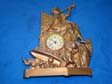 Spanish American War Era Patriotic Liberty Clock