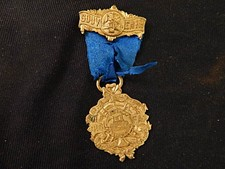 Wilkes Barre, PA 1897 Annual Convention P.S.F.A. Fire Medal